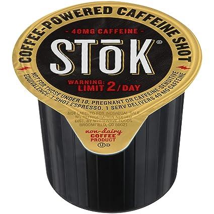 fef6b18caf1 Amazon.com   SToK Caffeinated Black Coffee Shots