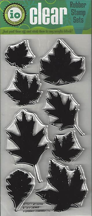 Art Impressions WC4963 Watercolor Cling Rubber Stamps Fall