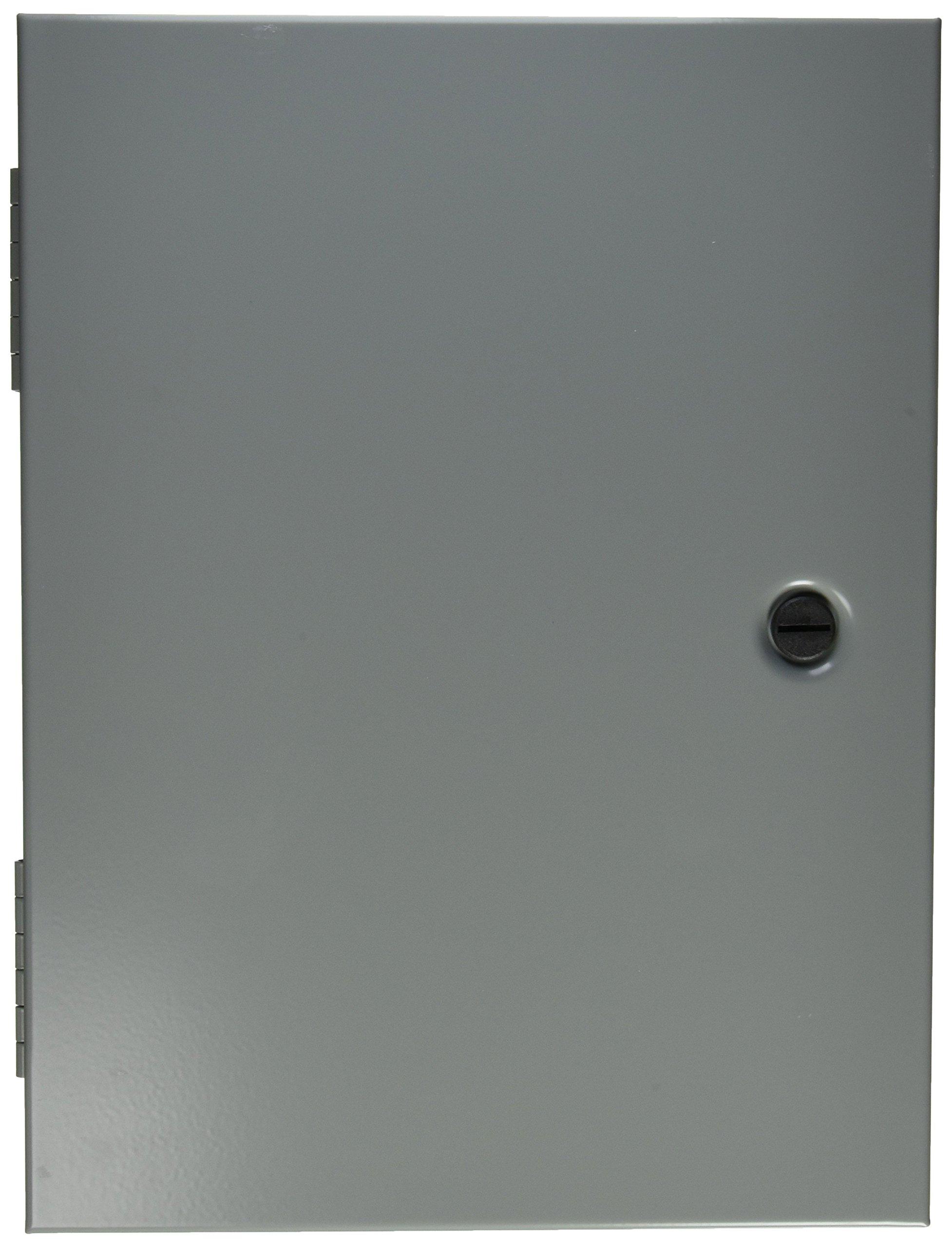 Hoffman AHE16X12X4 Pull Box Hinged Cover, Steel, 16.00'' x 12.00'' x 4.00'', Gray