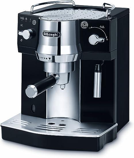 Delonghi EC820.B Cafetera Espresso, 1450 W, 1 Litro, Acero ...