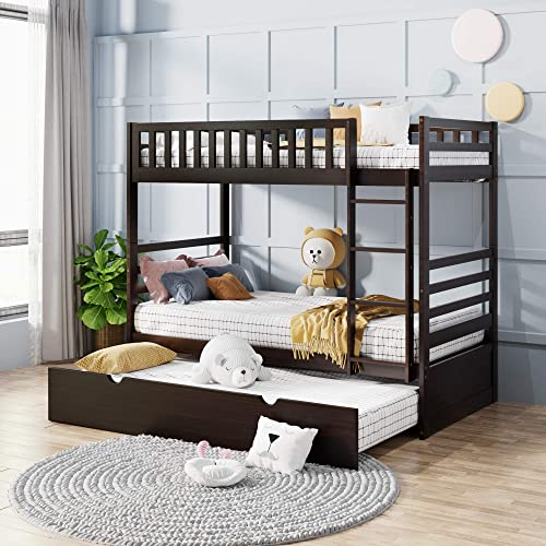 Merax Twin-Over-Twin Bunk Bed