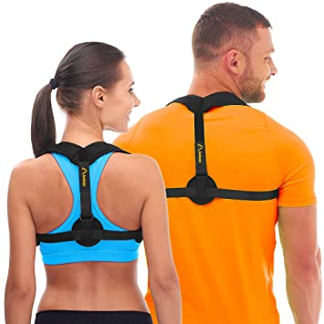 9f414d11f71ef Andego Back Posture Corrector for Women   Men - Effective and Comfortable  Posture Brace for Slouching