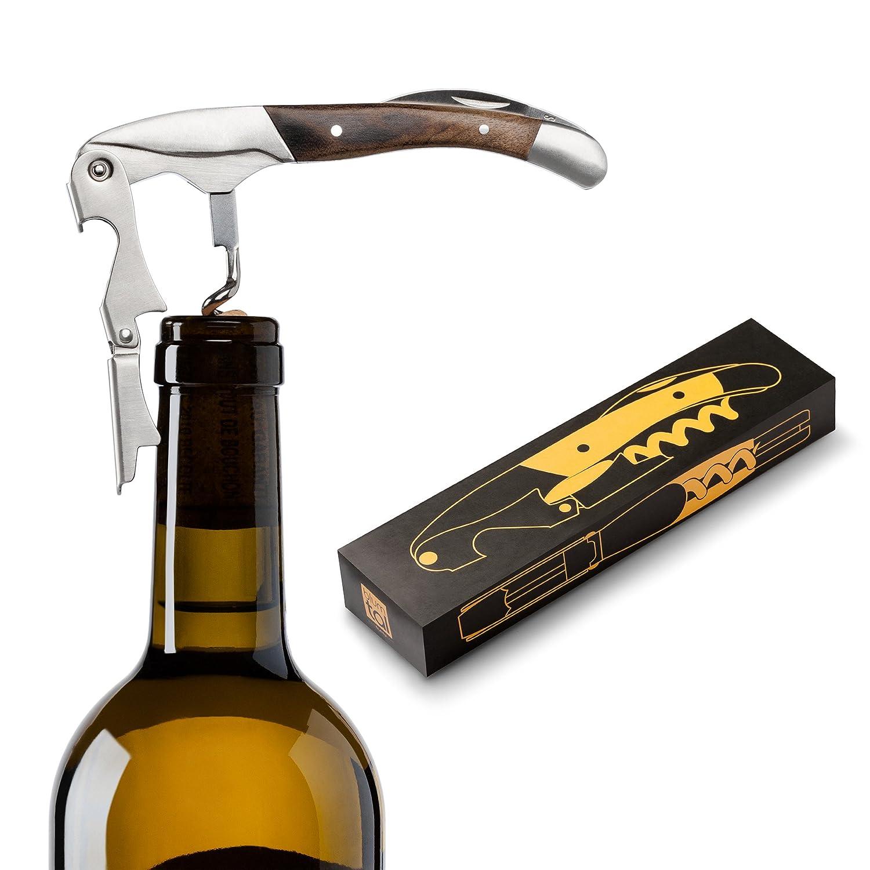 Wein Kellnermesser Korkenzieher Kellnerbesteck Flaschen/öffner Bottle Opener Bier