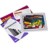 ETA hand2mind, Wood Cuisenaire Rods, Set of 6 with Trays