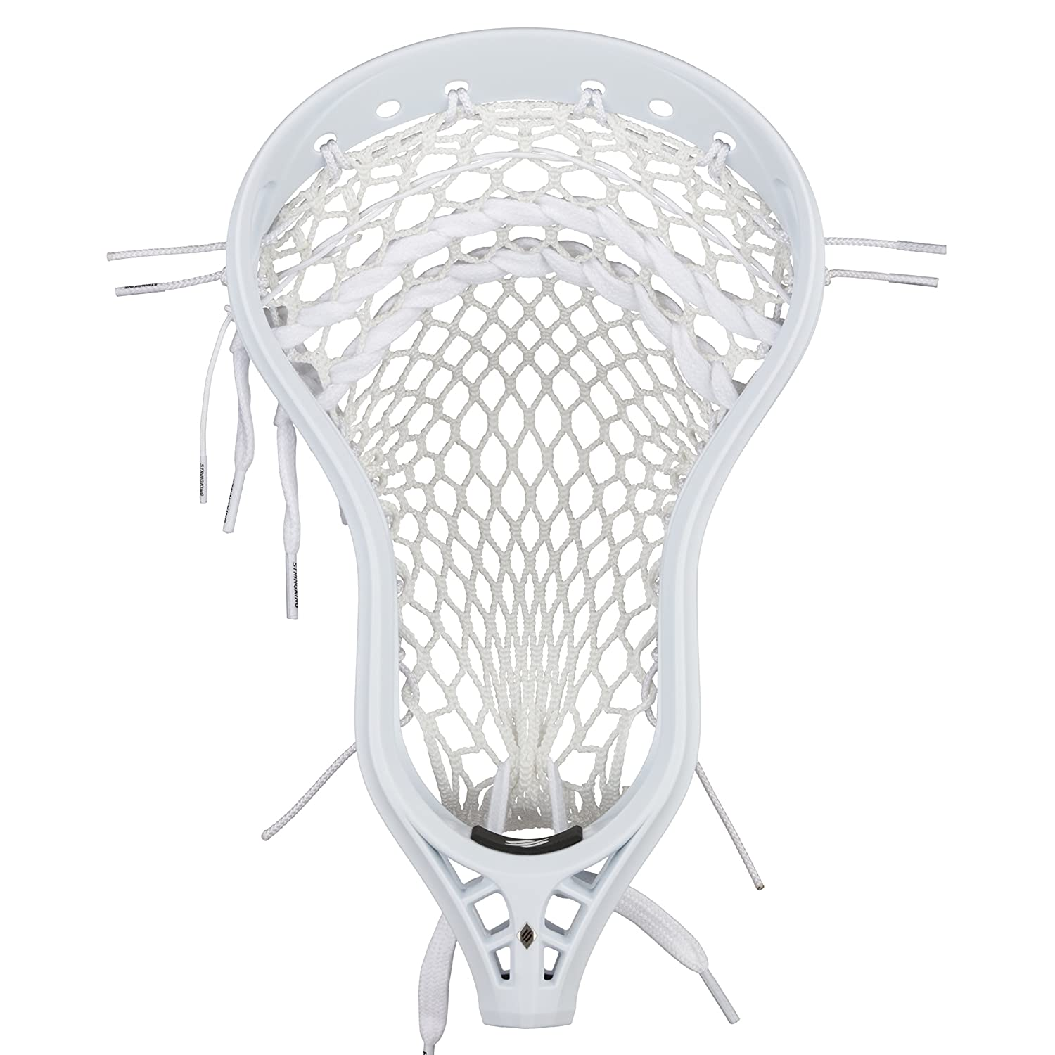 String King Mark 2D Strung with Type 3 Mesh Defense Lacrosse Head (Assorted Colors & Options)