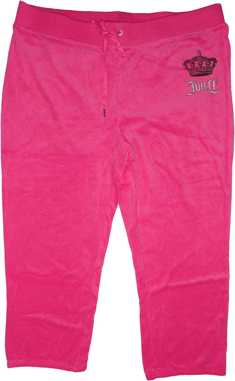 Amazon Com Juicy Couture Womens Velour Crown Logo Sweatpants Knockout Pink Clothing