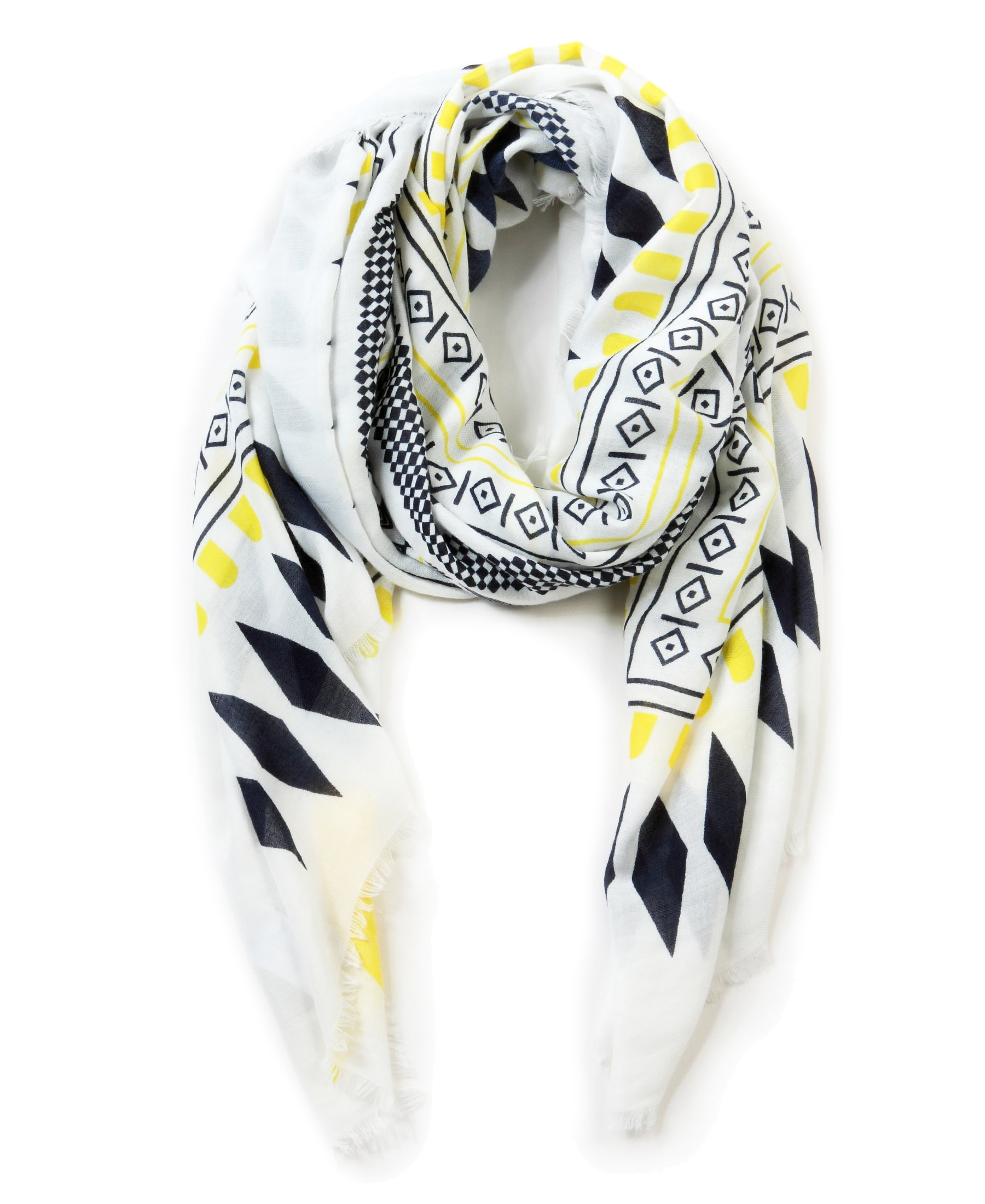 EUPHIE YING Women Shawl Wrap Scarf Fashionable Long Scarf, Bohemian Style