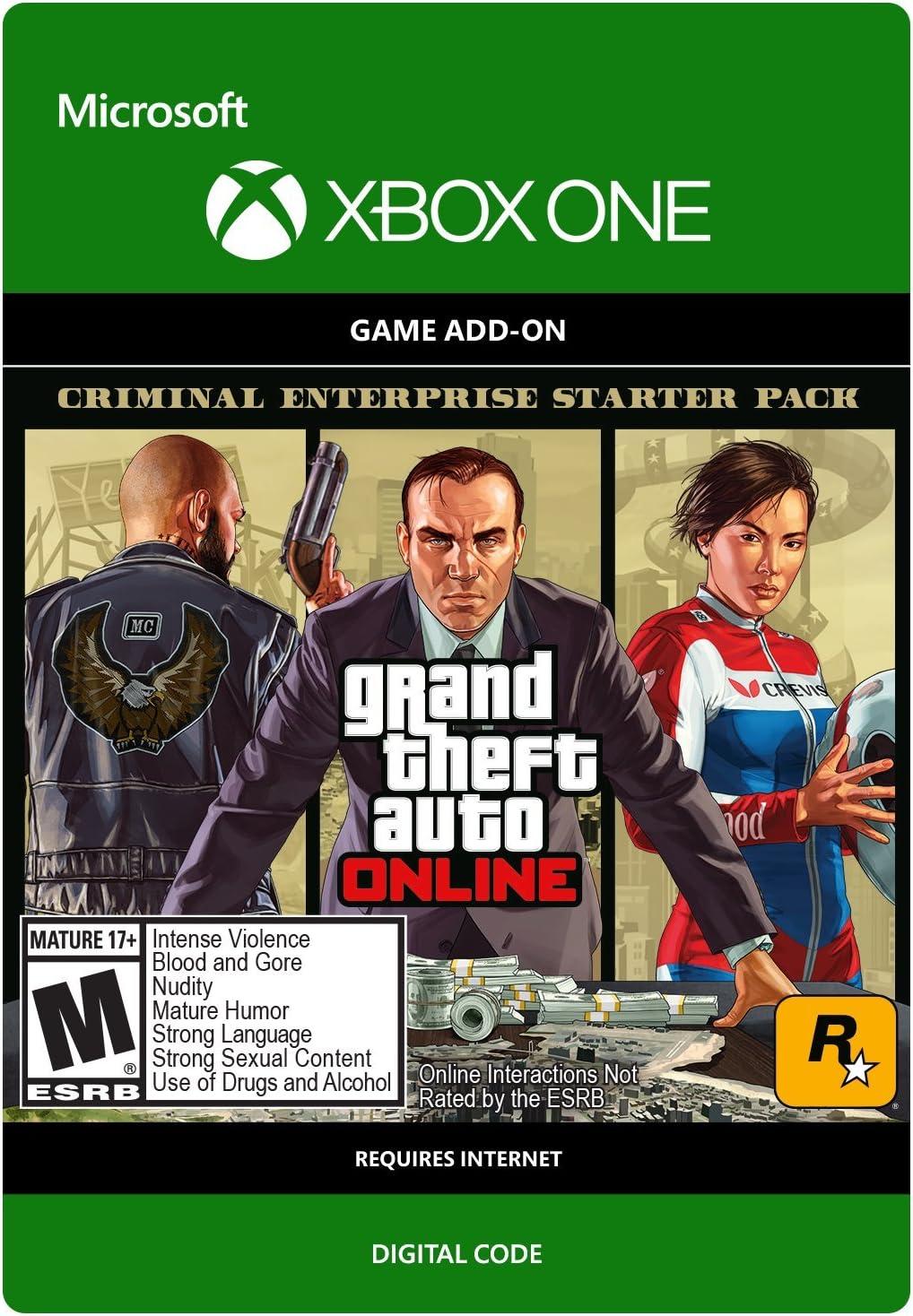Amazon com: Grand Theft Auto V: Criminal Enterprise Starter
