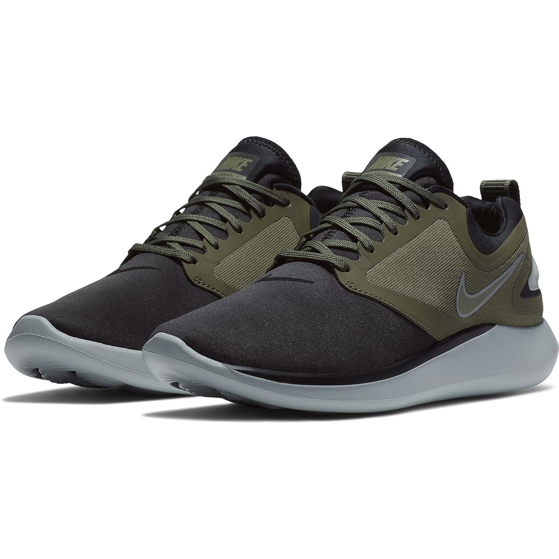 MultiCouleure (noir   Medium Olive L 008) Nike Lunarsolo, Chaussures de Running Homme 42.5 EU