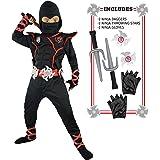 Amazon.com: Mombebe Baby Boys Halloween Costume Ninja ...