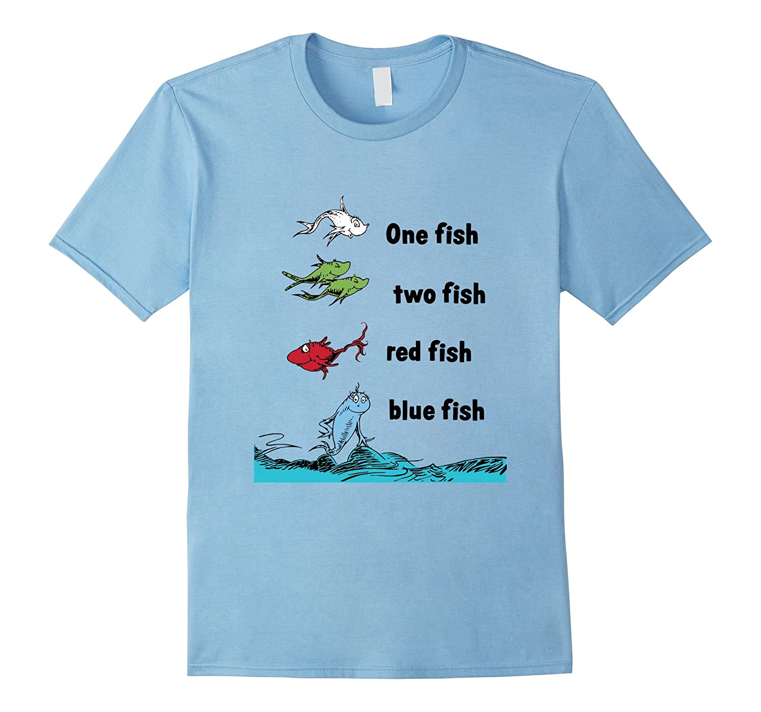 one fish two fish tshirt read across america shirt td