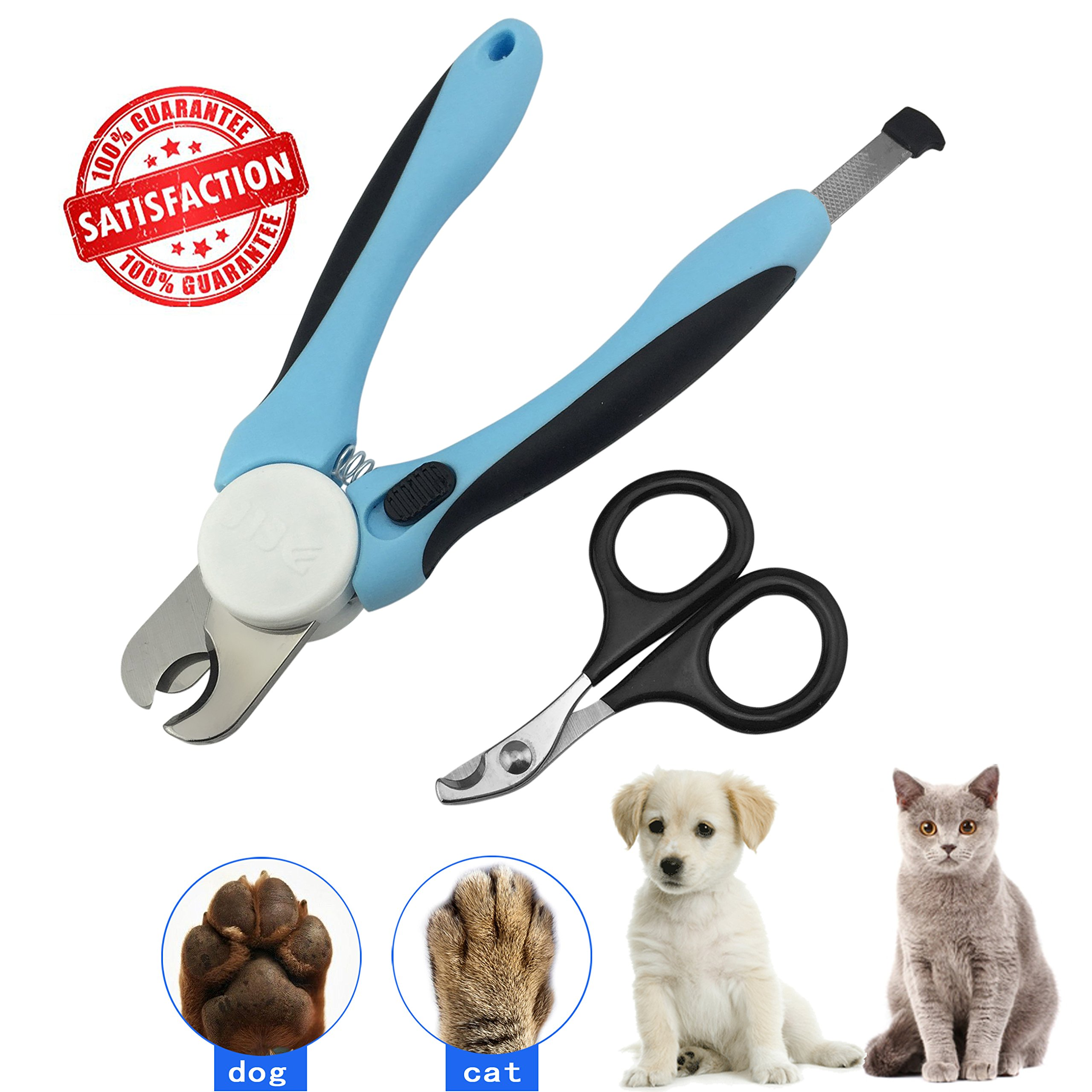 Pet Dog Cat Nail Clippers Designed By Sysrion - Free Nail File - Razor Sharp .. 12