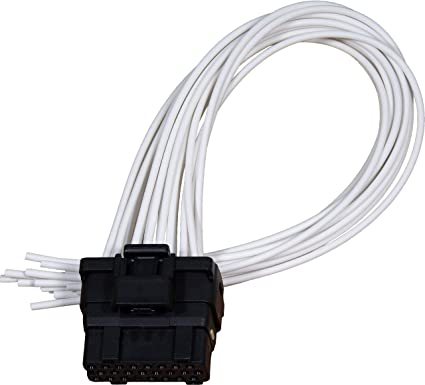 apdty 133995 ficm fuel injector control module wiring harness pigtail  connector fits 2003-2007 ford