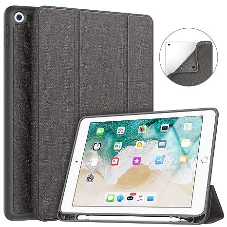 Amazon.com: Soke - Funda para iPad 9.7 2018/2017 con soporte ...