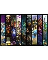 "CGC Huge Poster - Hearthstone Heroes of Warcraft Heroes - HEA004 (24"" x 36"" (61cm x 91.5cm))"