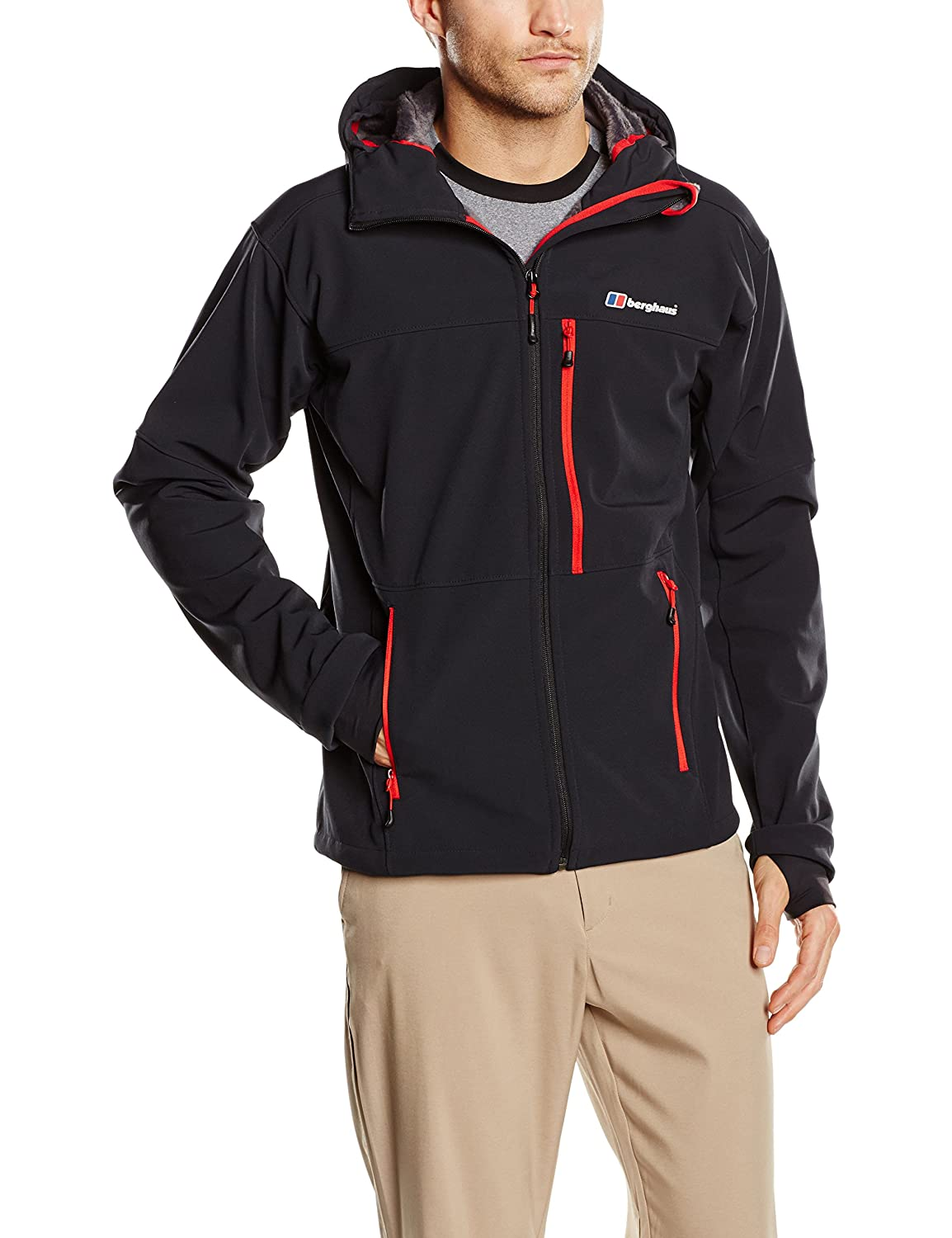 Berghaus Herren Softshelljacken Chaos Hooded