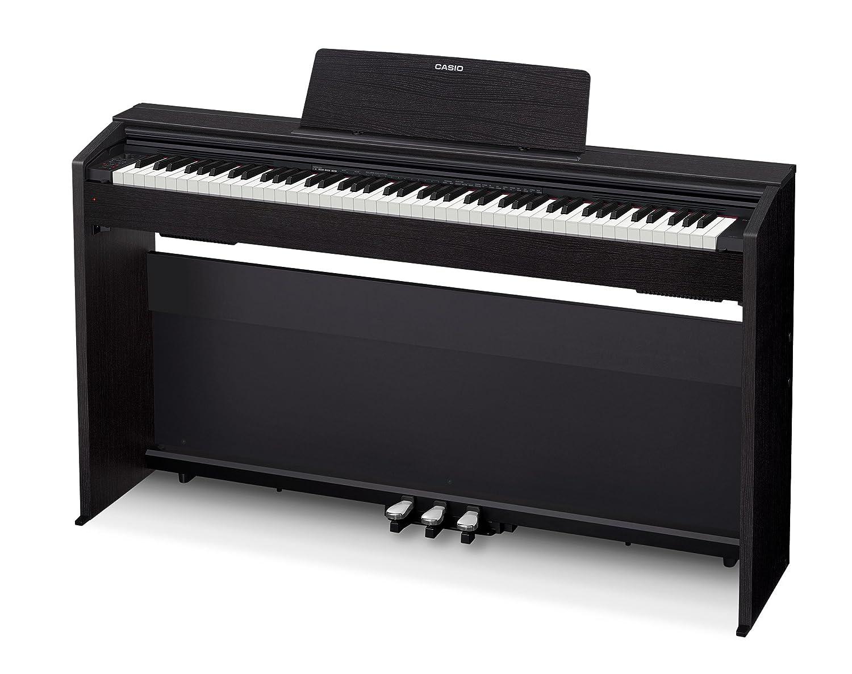Amazon.com: Casio Privia PX-870 Digital Piano - Black Bundle with ...