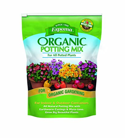 236 & Espoma AP8 8-Quart Organic Potting Mix