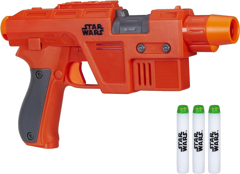 Star Wars-Pistola Nerf PoE Dameron, Multicolor (Hasbro C1464EU5)