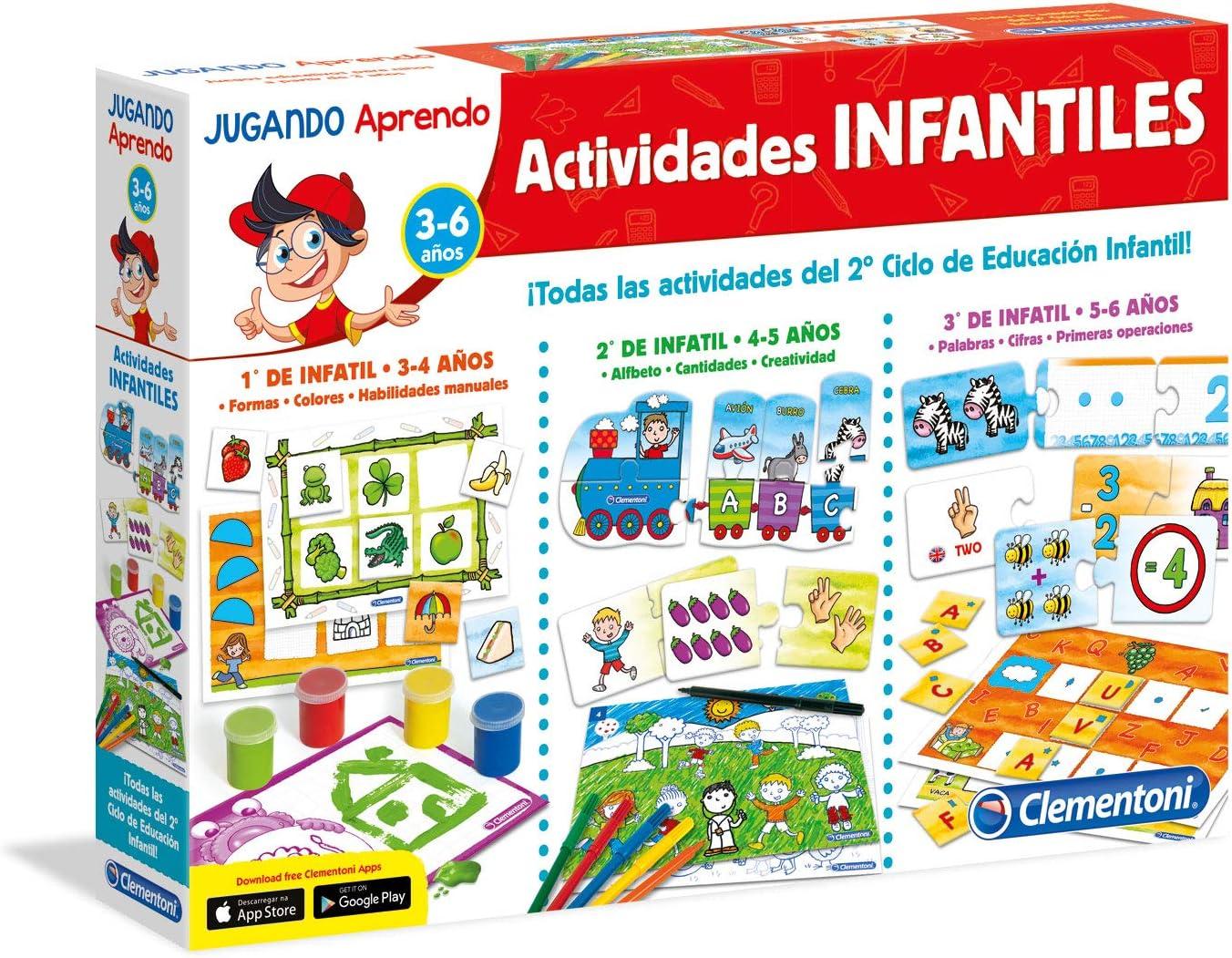 Clementoni - Educación Infantil 1º, 2º, 3º (65557): Amazon.es ...