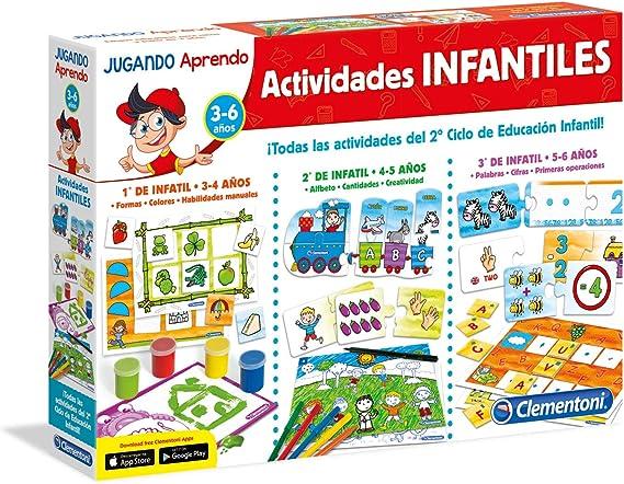Clementoni - Educación infantil 1º, 2º, 3º (65557) , color/modelo ...