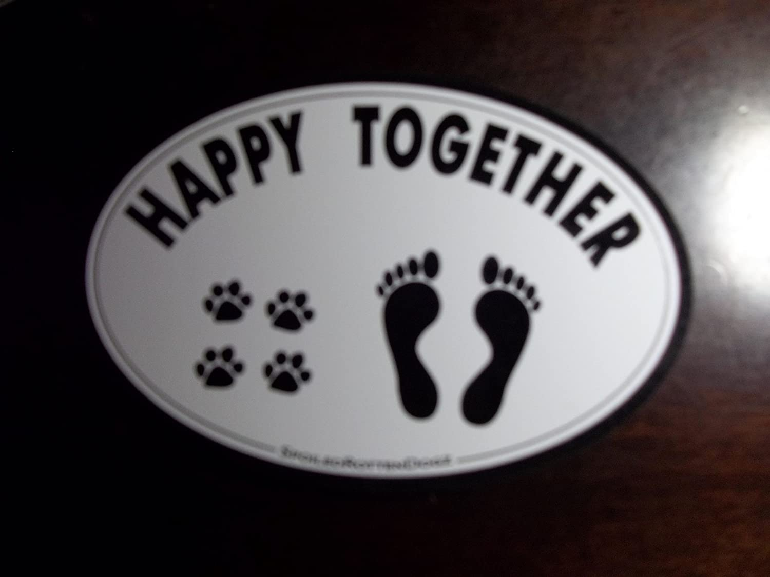 Pet Car Magnet - HAPPY TOGETHER Spoiled Rotten Dogz
