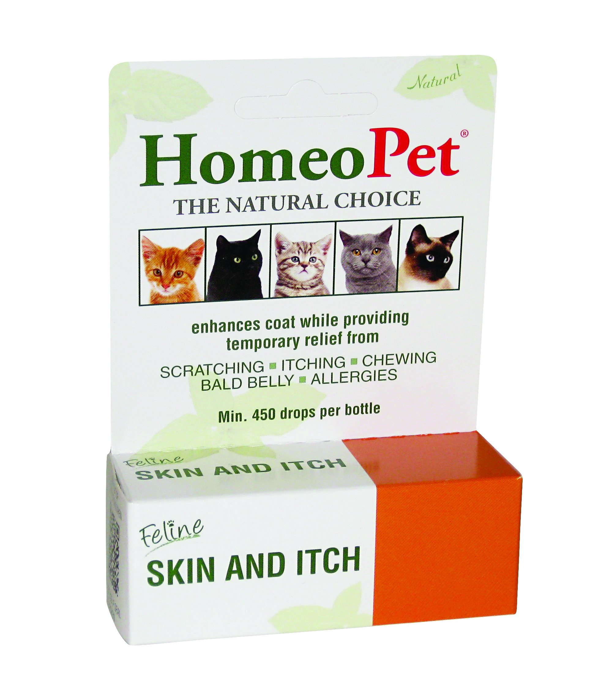 HomeoPet Feline Skin and Itch (Packaging may vary) by HomeoPet