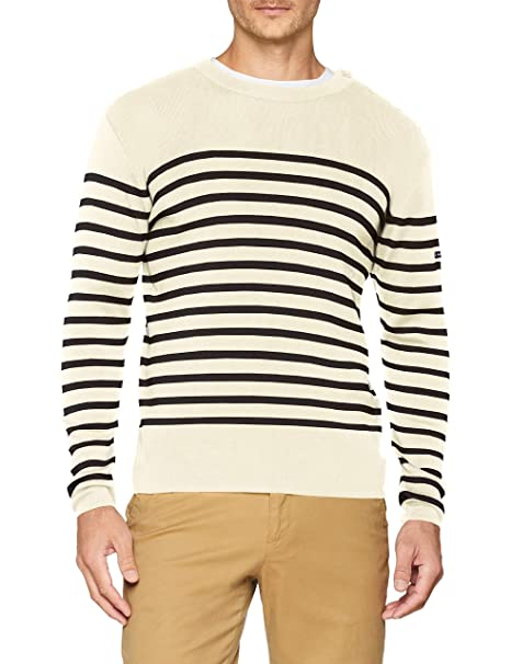 amazing price meet offer discounts Armor Lux Men's Pull Marin Goulenez Homme Jumper: Amazon.co ...