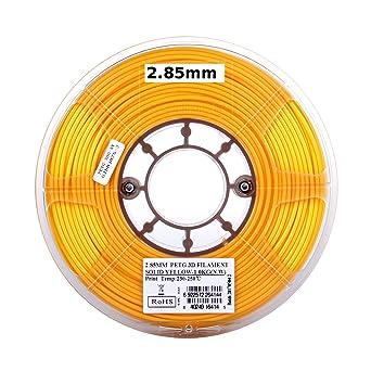 Amazon.com: eSUN bobina de filamento para impresora 3D PETG ...