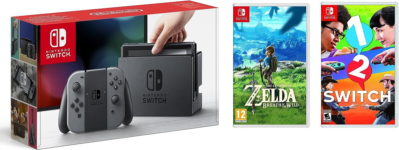 intendo Switch Gris 32Gb + The Legend of Zelda: Breath of the Wild: Amazon.es: Videojuegos