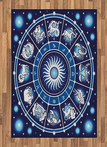 Amazon Lunarable Zodiac Area Rug Illustration Of Astrology
