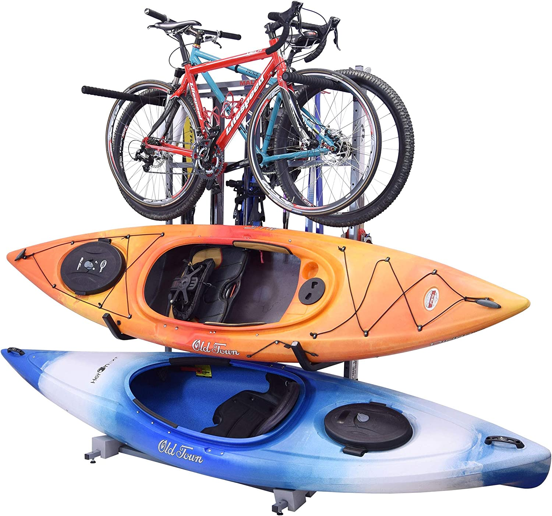 2 Kayak Malone 3 Bike 6 Ski Free Standing Storage Rack