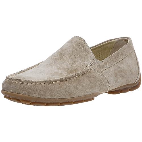 Geox Uomo Monet Suede, Mocasines para Hombre: Amazon.es: Zapatos y complementos
