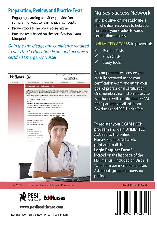 Amazon Certified Emergency Nurse Certification Cen Exam Prep