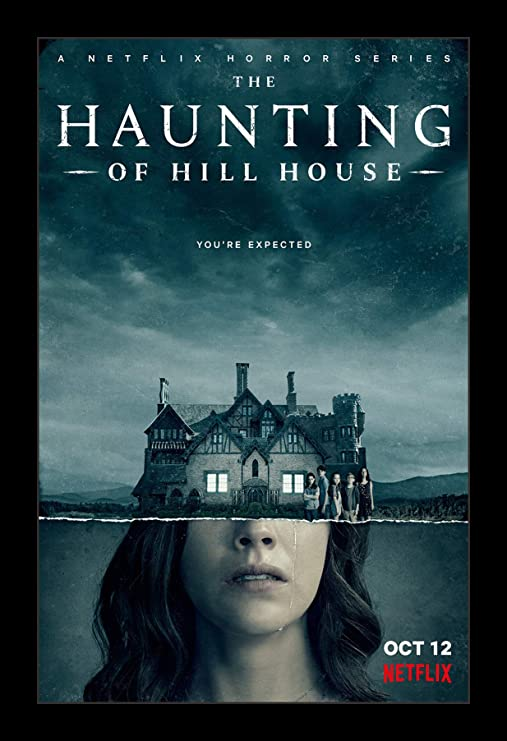 Amazon Com Wallspace 11x17 Framed Movie Poster The Haunting Of Hill House Posters Prints