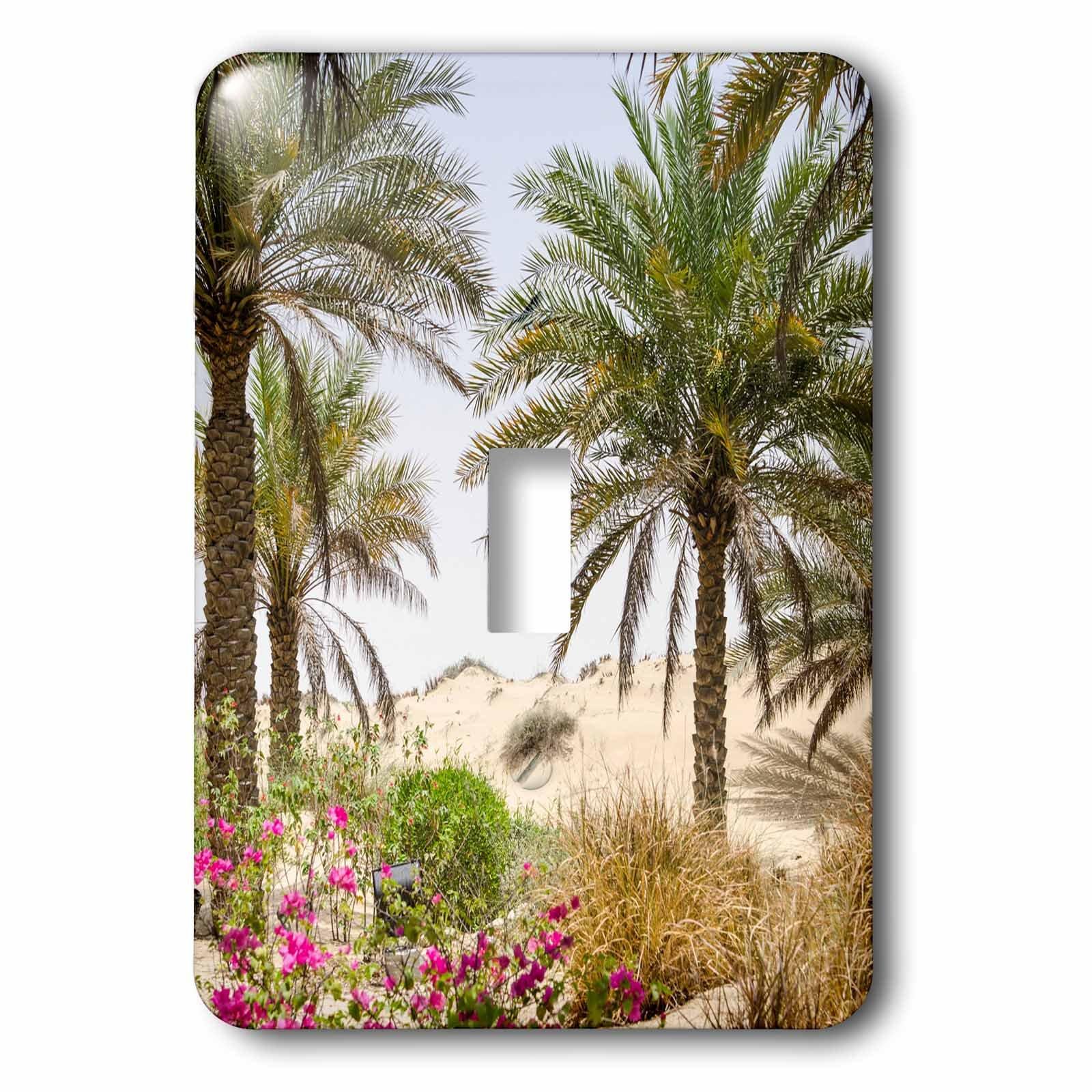 3dRose lsp_226128_1 Resort and Spa. Dubai Single Toggle Switch