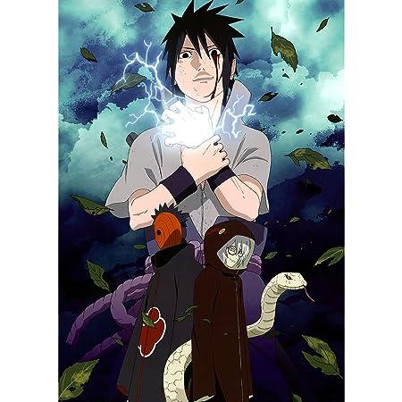 Fabulous Poster Cartel Sasuke Uchiha Naruto Ninja Manga ...