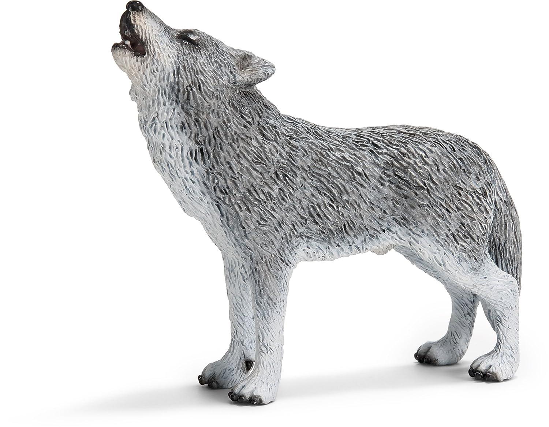 Schleich 14626  - Wild Life, Wolf, heulend B0030T0VFC Tiere Hochwertig | Zürich Online Shop