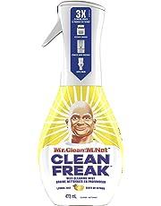 Mr. Clean Freak Deep Cleaning Mist Multi-surface Spray, Lemon Zest Scent Starter Kit, 473 Milliliter