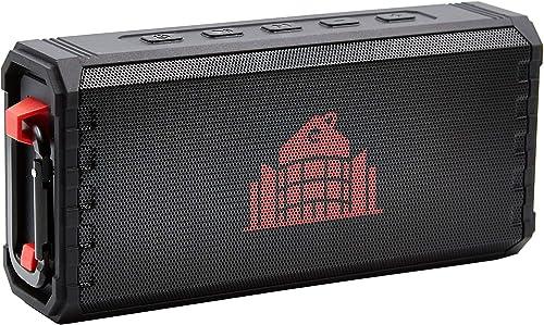 Phantastic Portable Wireless Bluetooth Speaker – IPX7 Waterproof Outdoo Speakers – Long Range Loud Sound – Water Proof Hands Free Microphone – 33FT Connection Range – Portable Bluetooth Speaker