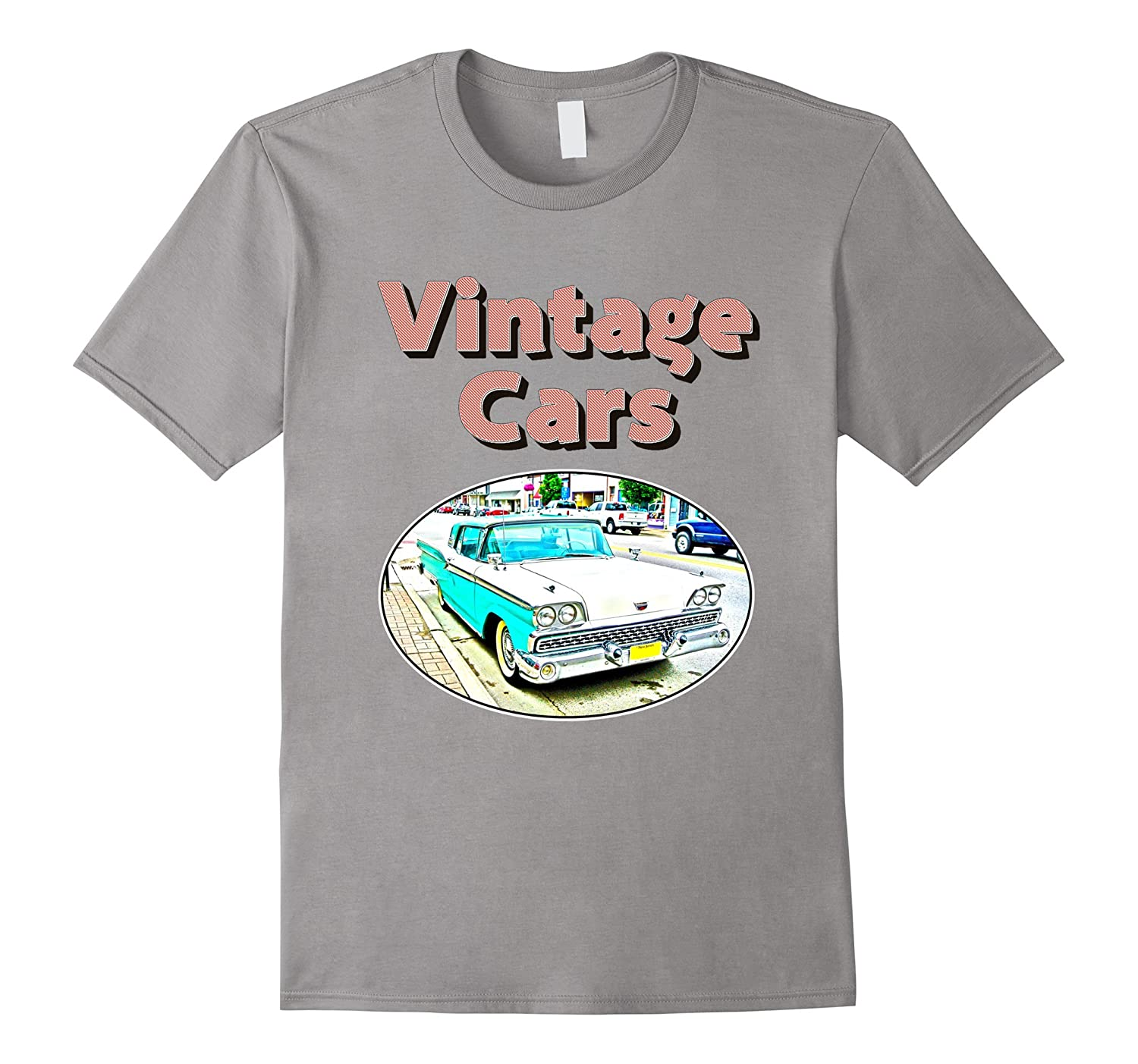 1959 Vintage Classic Car Fairlane 500 Skyliner T-Shirt-TH