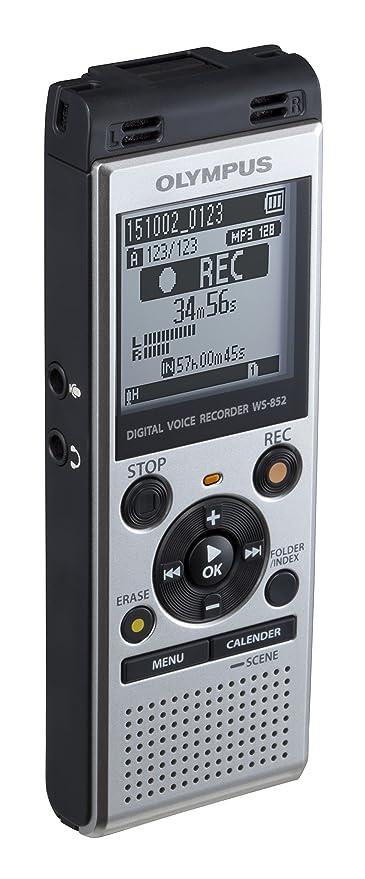 2abf58f2792 Amazon.com: Olympus Voice Recorder WS-852, Silver: Electronics