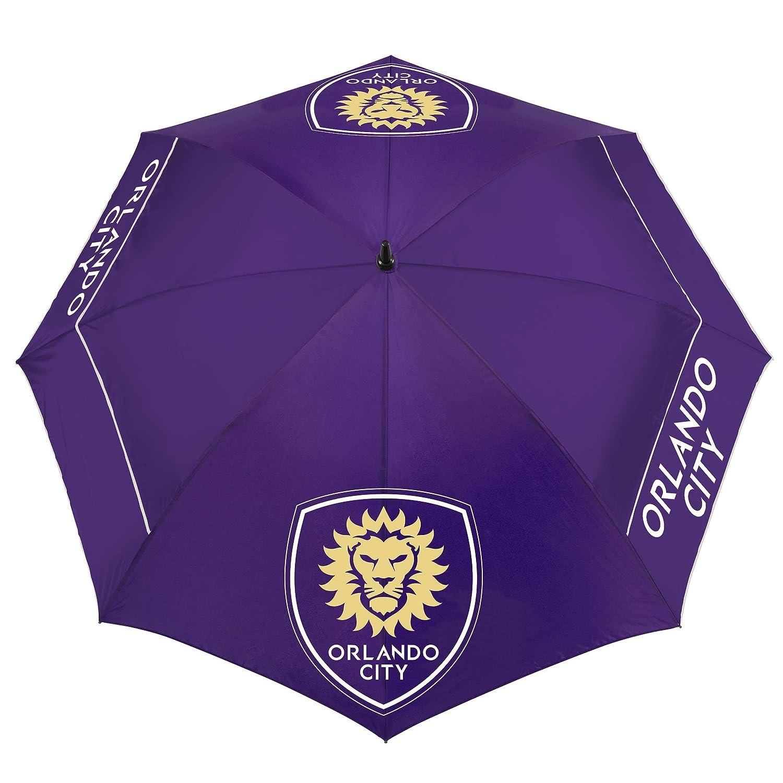 Team Effort MLS Orlando City SC 62インチ ウィンドシアーライト傘 62ウィンドシアーライトゴルフ傘 マルチ NA   B07H4J9NGG