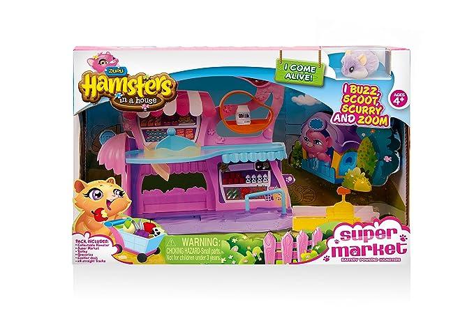 Zuru Hamsters in a House - Juguete de supermercado, con los personajes Hamsters: Amazon.es: Juguetes y juegos