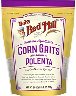 product image for White Corn Grits / Polenta, 24 Ounce (Pack of 1)