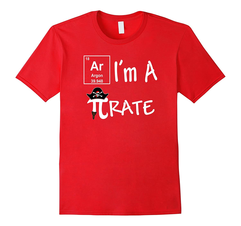 Ar I'm A Pirate Funny Math Science Geek Shirt-BN