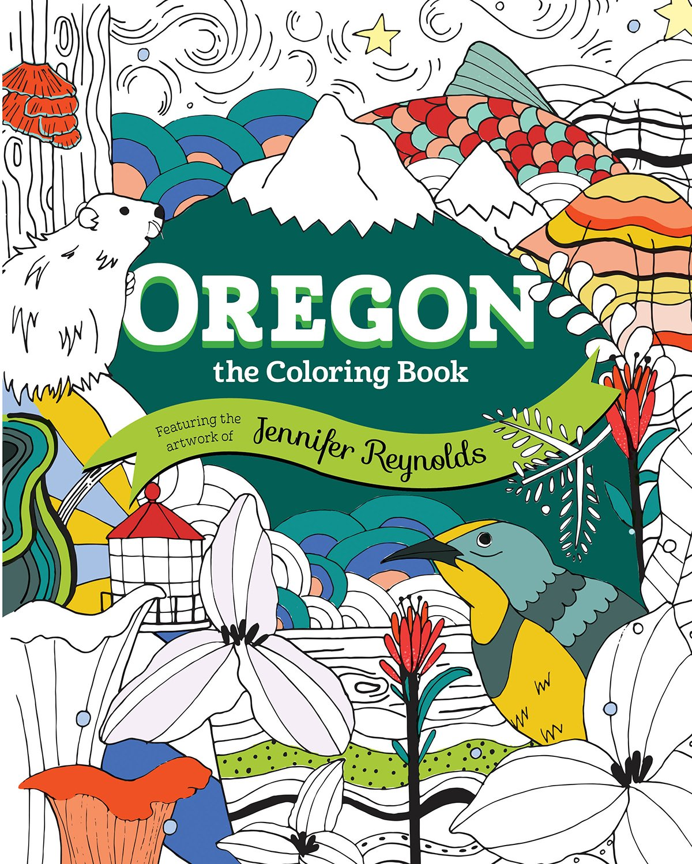 Oregon: The Coloring Book