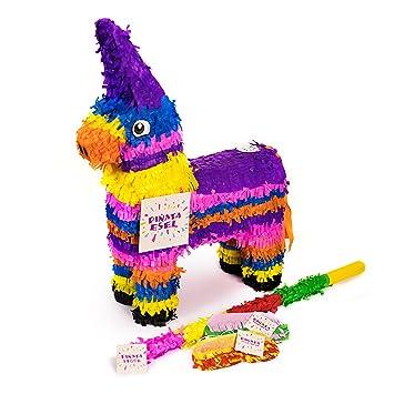 Papier Pinata Bunter Esel Partyspiel Geburtstagsfeier Party Geschenkverpackung Pinatas