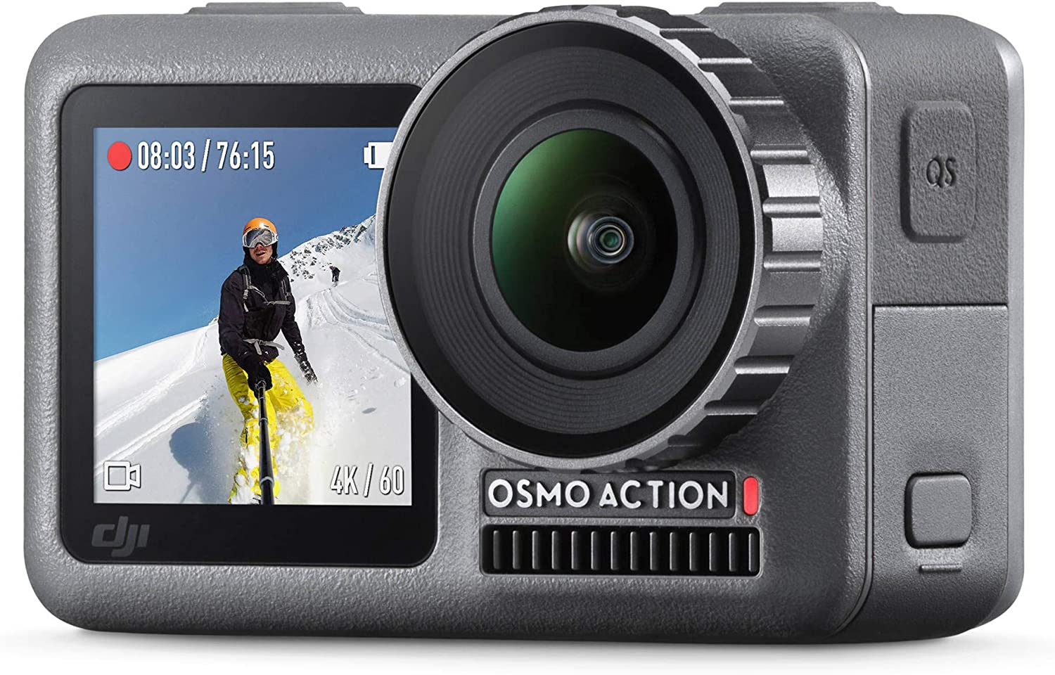 PGYTECH Osmo Action Camera Universal Mount to 1//4 PGYTECH OSMO Action Camera Battery Adhesive Frame Mount Hand Grip /& Tripod Compatible with DJI OSMO Action Camera Accessories