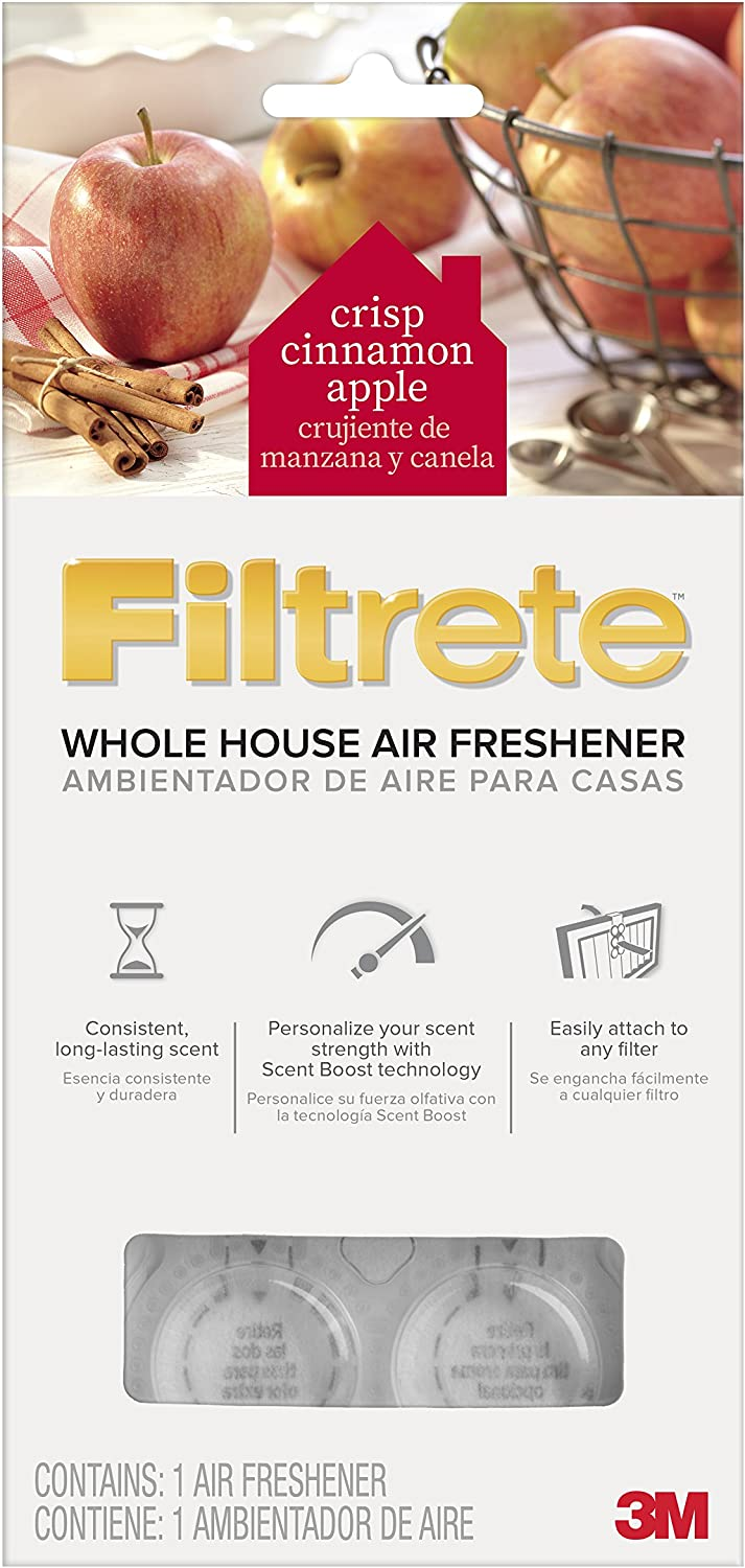 Filtrete SI-1-C Whole House Air Freshener for AC Furnace Air Filter, Cinnamon